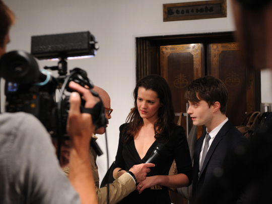 daniel radcliff Vogue Fashions Night Out New York