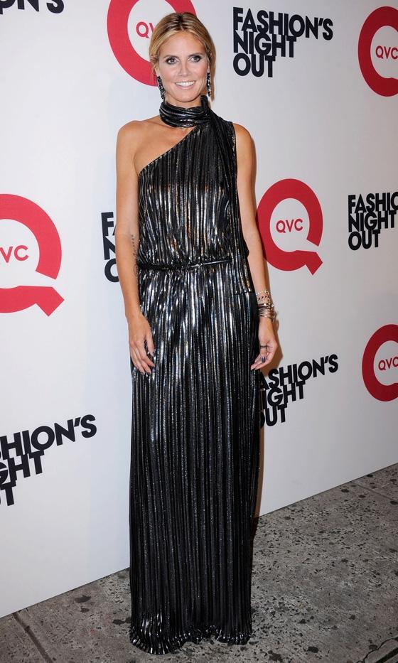 heidi Vogue Fashions Night Out New York
