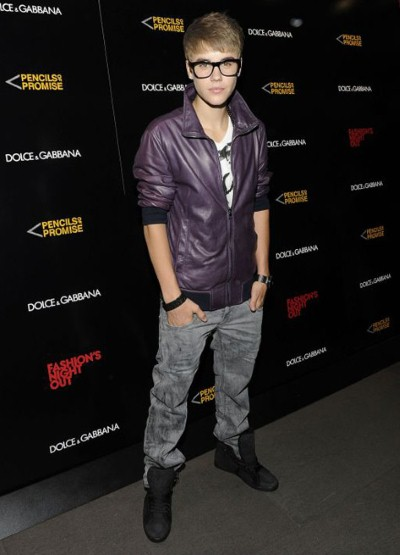 justin bieber Vogue Fashions Night Out New York