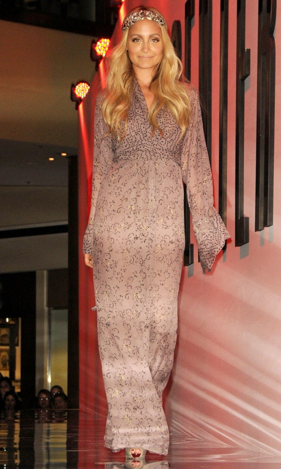 nicole richie Vogue Fashions Night Out New York