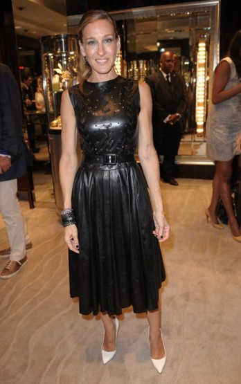 sjp Vogue Fashions Night Out New York