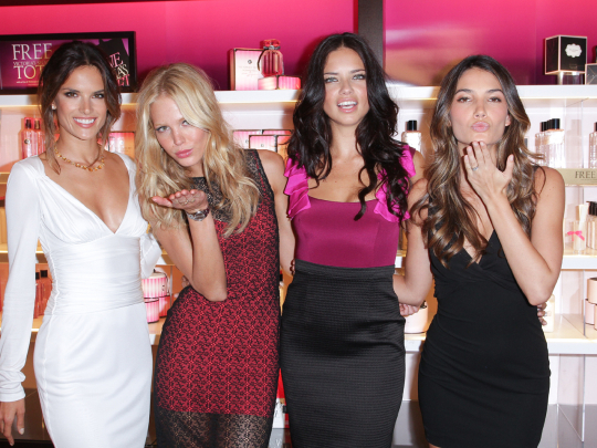 victorias secret angels Vogue Fashions Night Out New York