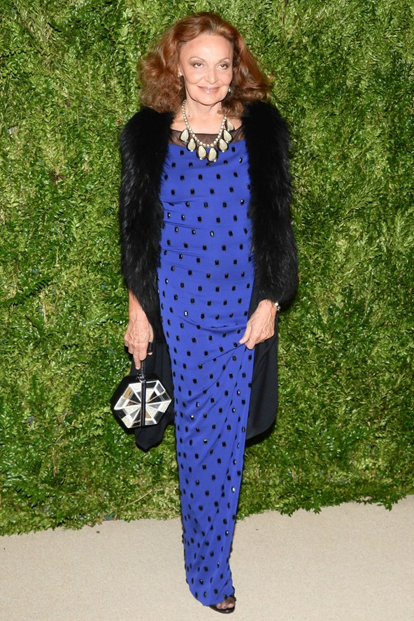diane von furstenberg vogue 12nov13 rex b 592x888 Fashion Police: Vogue Fashion Fund Awards