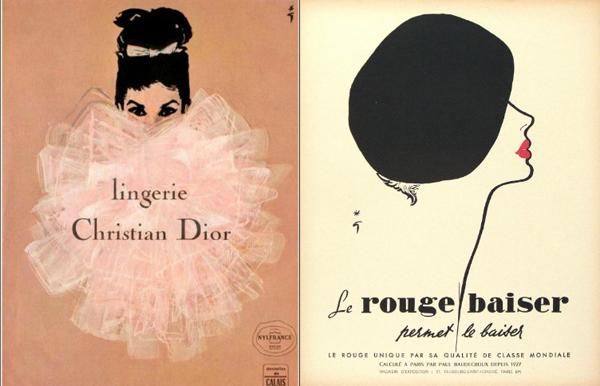 slika 2 Začetnik modne ilustracije: René Gruau