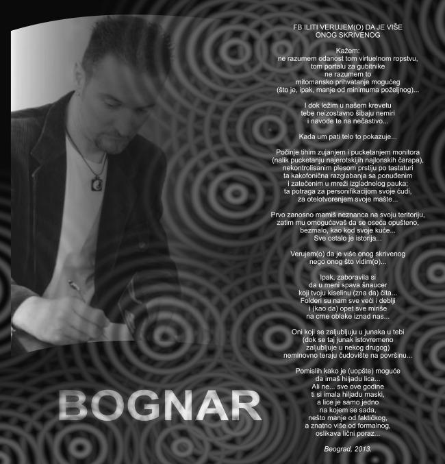 galerija1 Wannabe intervju: Zoran Bognar, pesnik