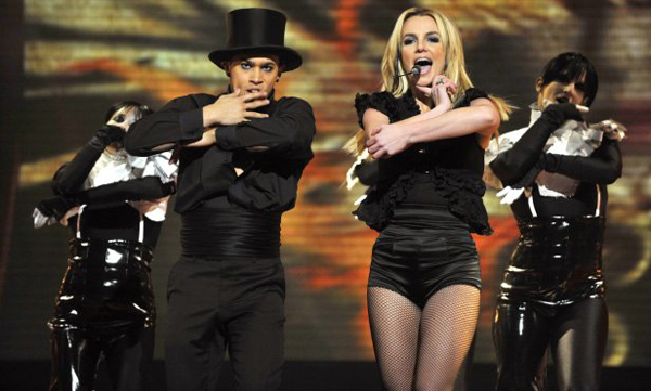 2008 x factor  Zvezdani preobražaji: Britney Spears