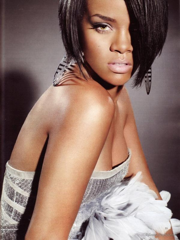 glamorous r hanna Zvezdani preobražaji: Rihanna