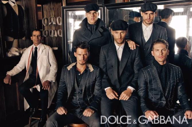 Dolce Gabbana Menswear FW 2010 11 01 Dolce & Gabanna menswear reklamna kampanja za kolekciju jesen/zima 2010/11