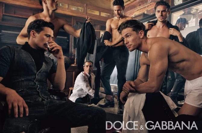 Dolce Gabbana Menswear FW 2010 11 02 Dolce & Gabanna menswear reklamna kampanja za kolekciju jesen/zima 2010/11