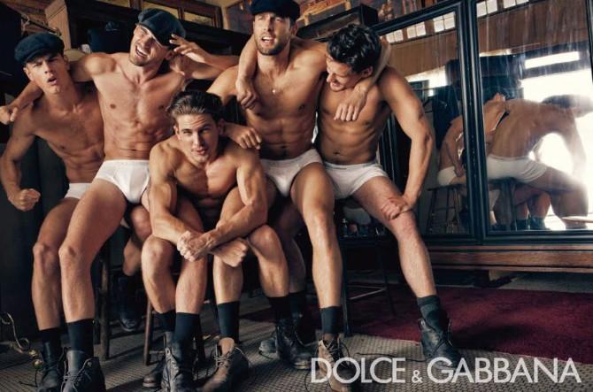 Dolce Gabbana Menswear FW 2010 11 03 Dolce & Gabanna menswear reklamna kampanja za kolekciju jesen/zima 2010/11
