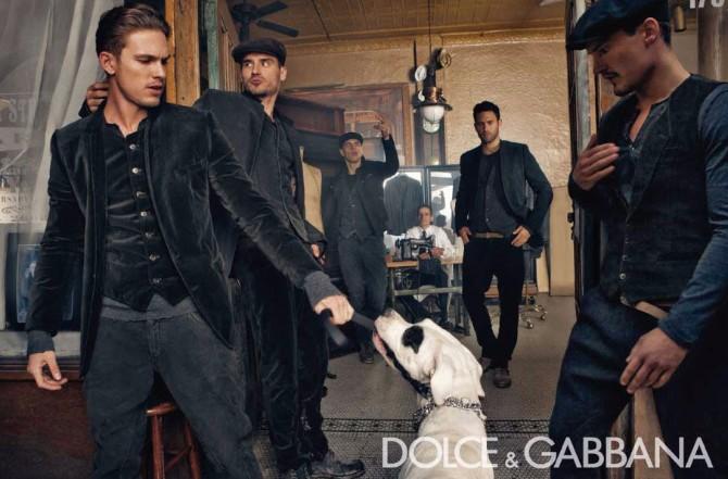 Dolce Gabbana Menswear FW 2010 11 04 Dolce & Gabanna menswear reklamna kampanja za kolekciju jesen/zima 2010/11