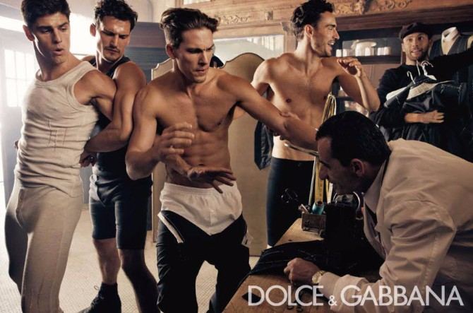Dolce Gabbana Menswear FW 2010 11 05 Dolce & Gabanna menswear reklamna kampanja za kolekciju jesen/zima 2010/11