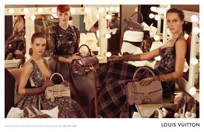 louis vuitton1 Reklamna kampanja: Louis Vuitton jesen/zima 2010/11