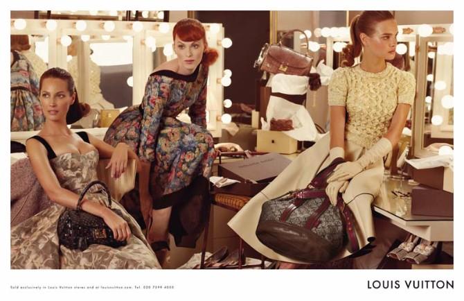 louis vuitton3 Reklamna kampanja: Louis Vuitton jesen/zima 2010/11