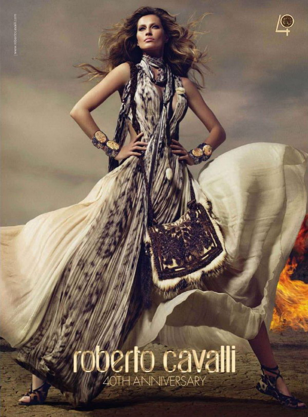 Gisele Roberto Cavalli 01 Roberto Cavalli: 40 godina u 10 fotografija