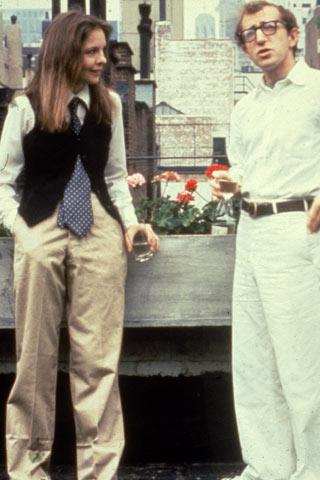 annie hall 1977 Fashion moments: na filmu i televiziji
