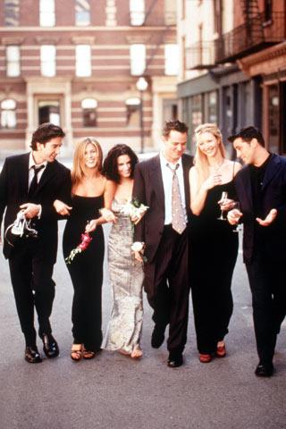 friends 1994 2004 Fashion moments: na filmu i televiziji