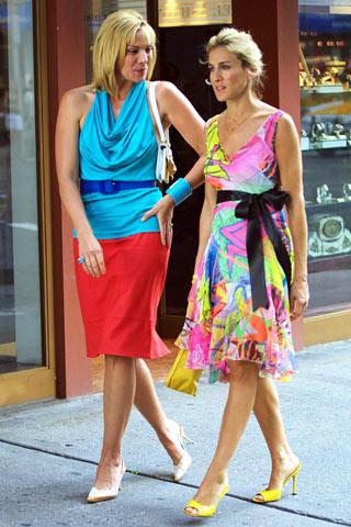 sex and the city 1998 present Fashion moments: na filmu i televiziji