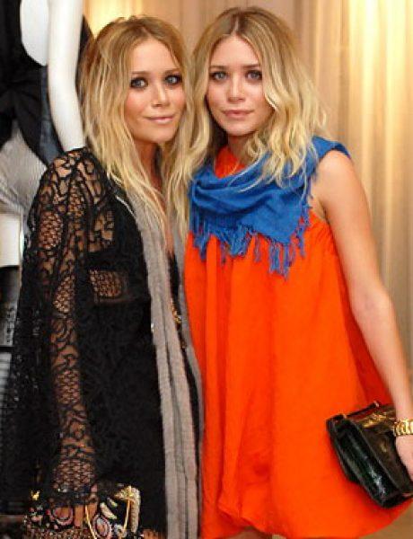Boho-chic: Mary-Kate and Ashley Olsen