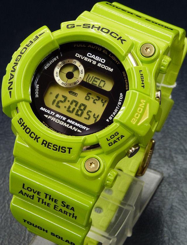 gw200f3jr green gshock frogman watch diver 1 Moderni muški satovi