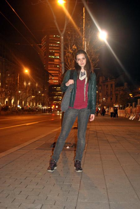 jelena Belgrade street style