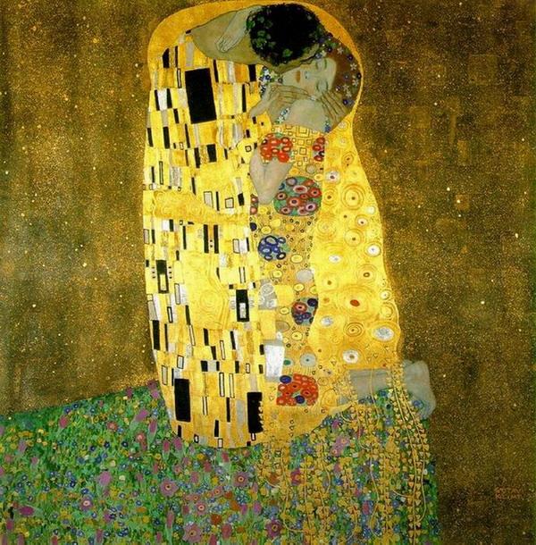 klimt kiss1 Poljubac Gustava Klimta