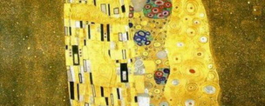 """Poljubac"" Gustava Klimta"