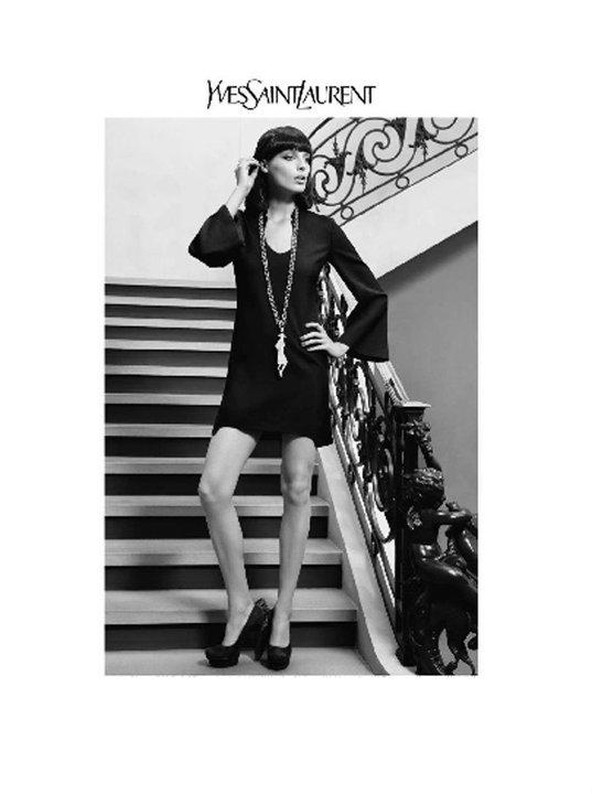 ysl Reklamna kampanja: Yves Saint Laurent jesen/zima 2010/11.