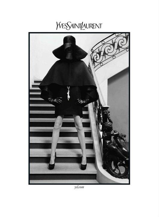 ysl2 Reklamna kampanja: Yves Saint Laurent jesen/zima 2010/11.