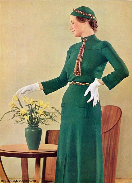 1934 Minerva Knitt Fashions Moda kroz 20. vek (1900. 1950.)
