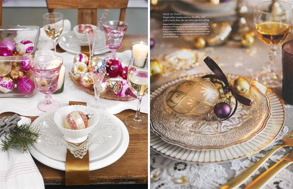 Christmas table setting Inspiracija za ukrašavanje prazničnog stola