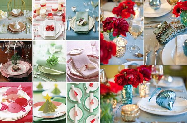 Christmas table setting3 Inspiracija za ukrašavanje prazničnog stola