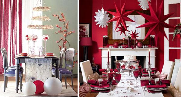 Christmas table setting7 Inspiracija za ukrašavanje prazničnog stola