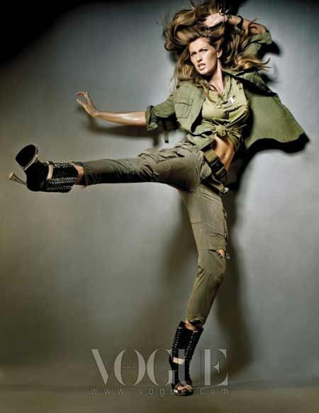 Gisele Bundchen Vogue Korea May 2010 3 Šta kupiti na sniženjima?