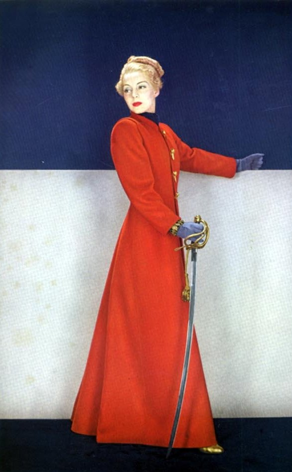 Vogue January 1937 Moda kroz 20. vek (1900. 1950.)