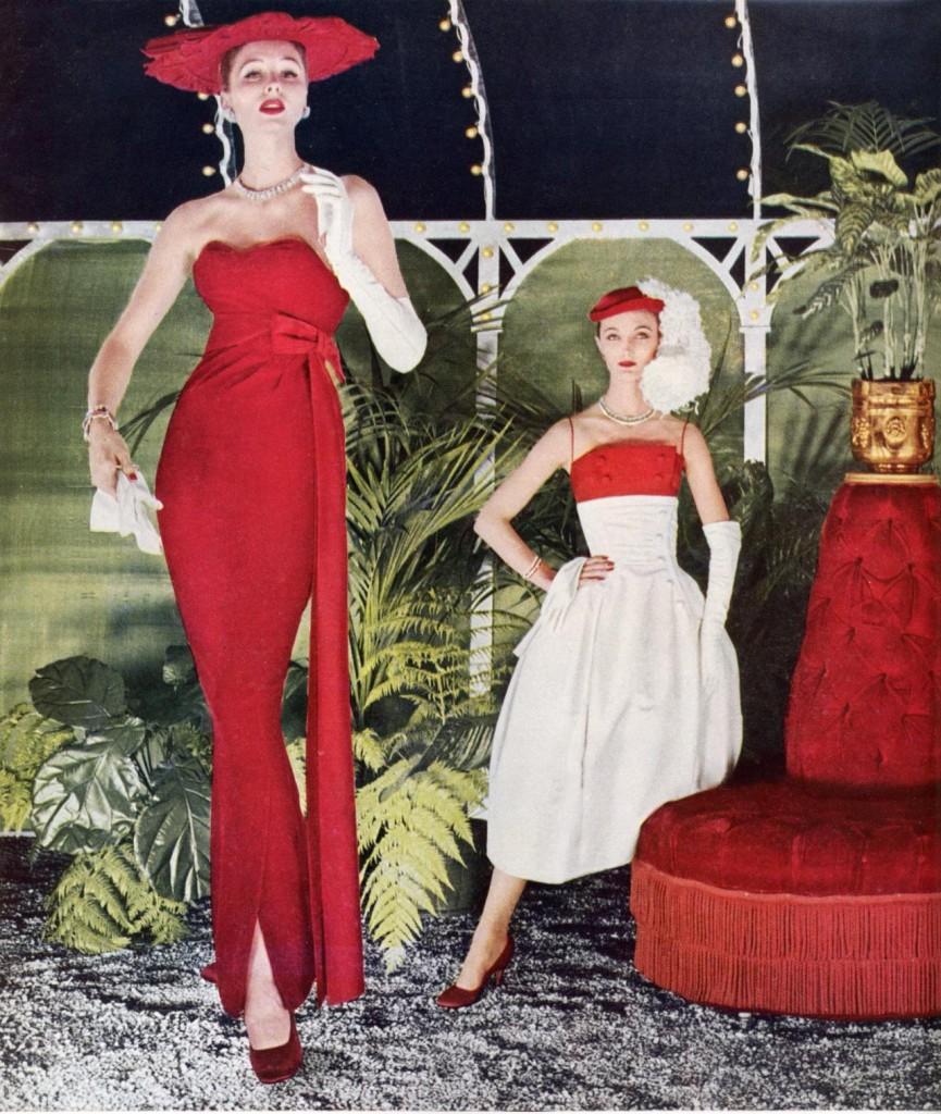 Vogue   Oct 1956 Suzy .61201847 large 865x1024 Moda kroz 20. vek (1950.   1990.)