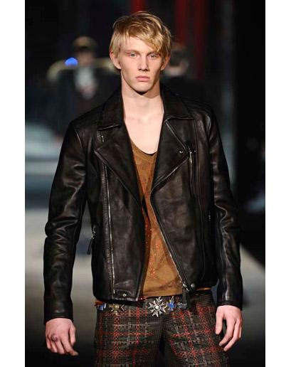 biker jacket roberto cavalli Must have za muškarce za zimsku sezonu