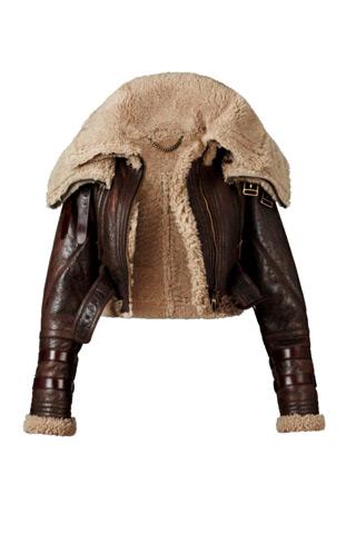 burberry prorsum shearling jacket Predlažemo: Must have za zimsku sezonu