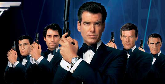 james bond Moje ime je Bond. Džejms Bond.