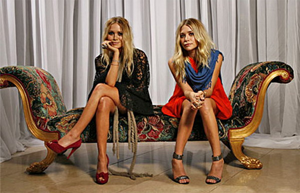 mary kate and shley olsen Boho chic: Mary Kate and Ashley Olsen