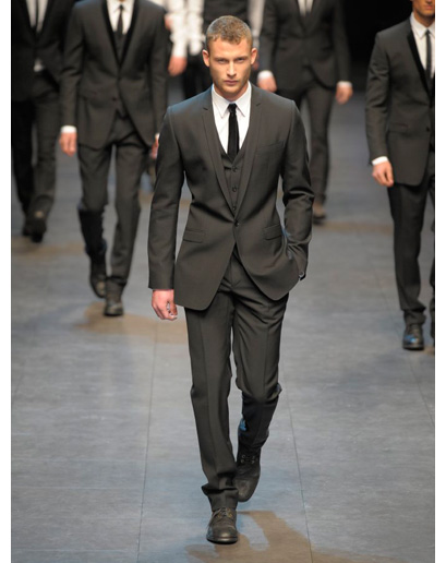 three piece suit dolce Must have za muškarce za zimsku sezonu