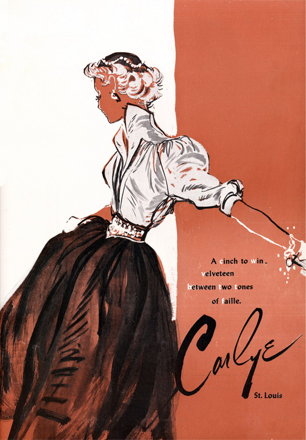 1952 Carlye 18193912 large Modna vintage ilustracija