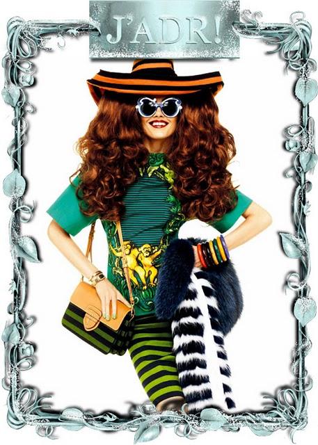 2.Prada  Karmen Pedaru za Vogue Japan Mart 2011.