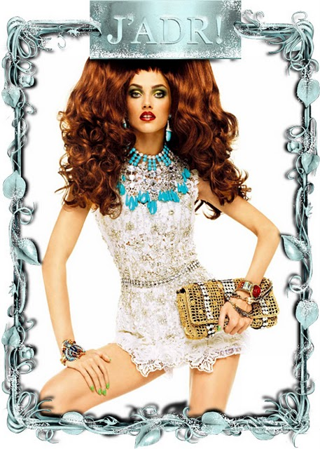 8.Dolce Gabbana Karmen Pedaru za Vogue Japan Mart 2011.