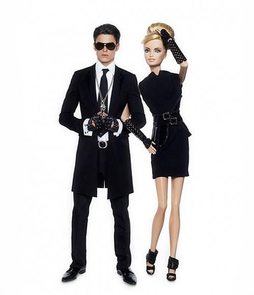 BarbieKarlLagerfeld11 Barbie & Baptiste Giabiconi by Karl Lagerfeld
