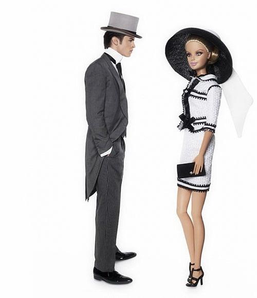 BarbieKarlLagerfeld5 Barbie & Baptiste Giabiconi by Karl Lagerfeld