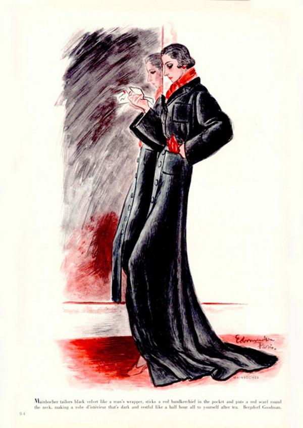 Harpers 1935   MAINBOCHER Fashions 18194229 large Modna vintage ilustracija