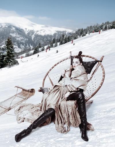 Ines Crnokrak by Jacque Dequeker 4 Winter fairytale
