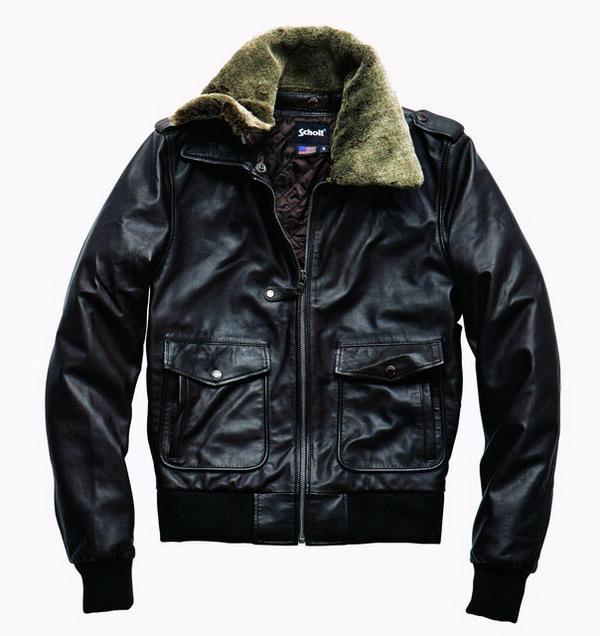 La Redoute Aviator Style Blouson Jacket Brown Aviator style