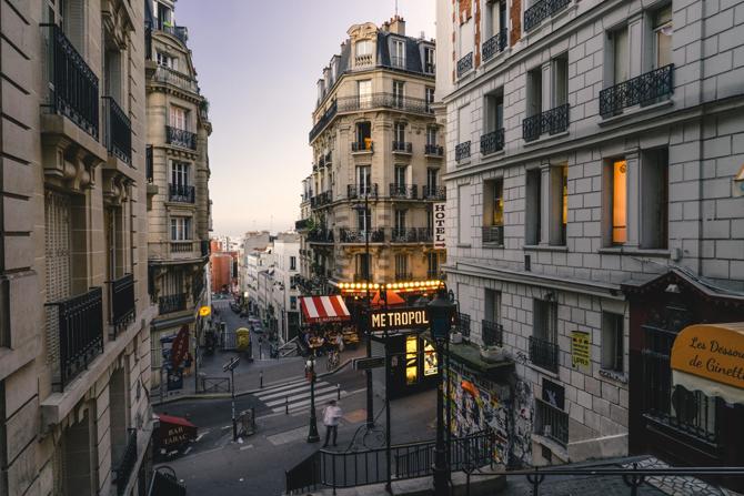 Montmartre Preživeti, proživeti i doživeti Pariz